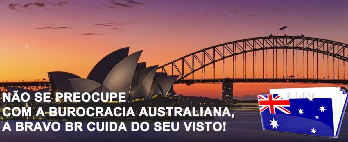 Visto Australiano - Bravo Br Assessoria de Vistos Consulares